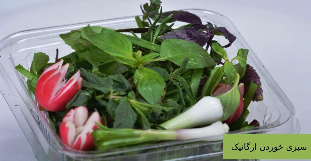 سبزی خوردن ارگانیک