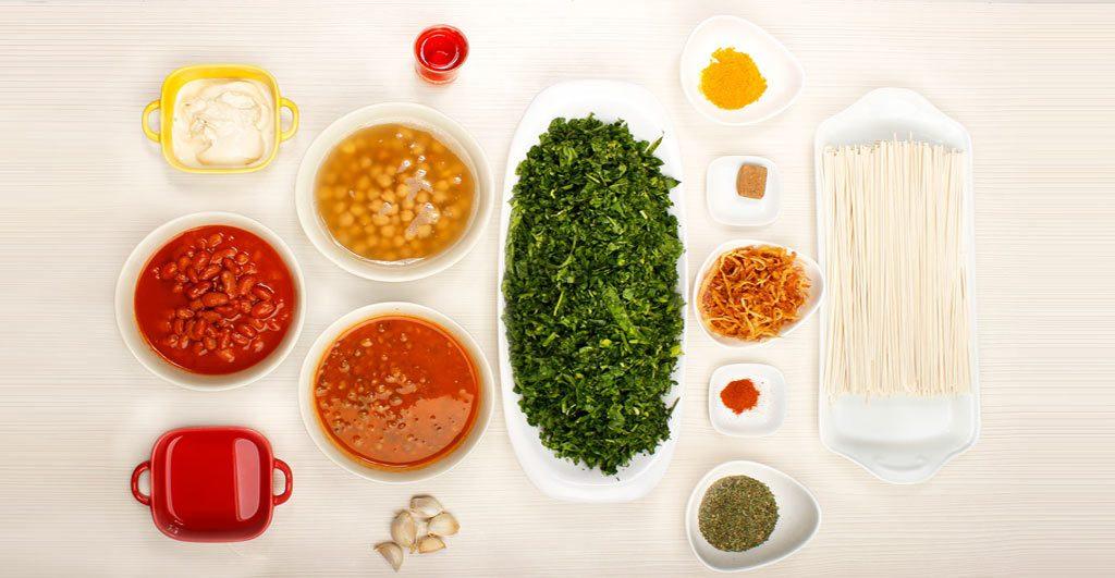 سبزی آش ارگانیک